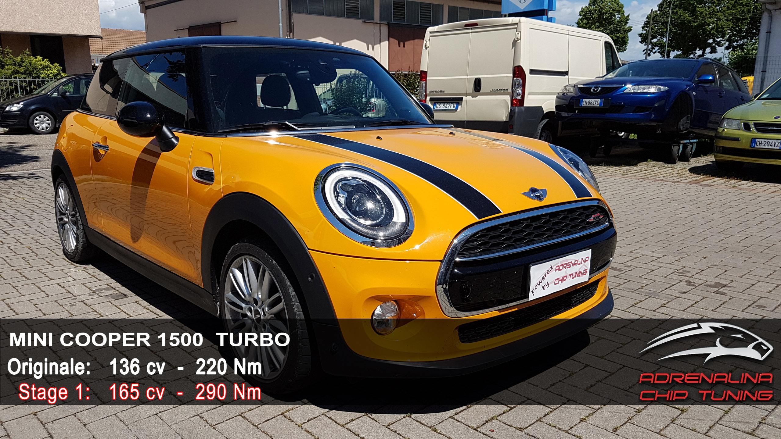 Mini Cooper F56 1500 Turbo