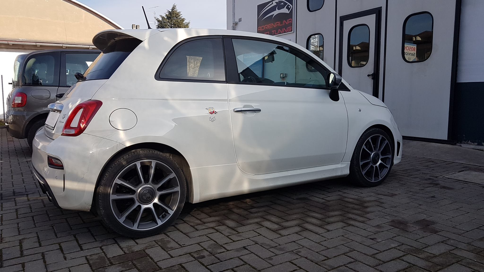 abarth 595 turismo 165cv adrenalina chip tuning. Black Bedroom Furniture Sets. Home Design Ideas
